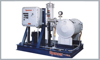 Digester Gas Booster Skid Package